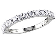 Diamond Band Ring, 3/4cttw, 14K White Gold, byAffinity - J340835