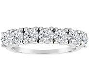 Affinity 1.40 cttw 7-Stone Diamond Band Ring, 14K Gold - J387535