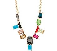 LOGO Links by Lori Goldstein Modern Mosaic Necklace - J354536