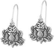 Alex and Ani Lotus Peace Petals Drop Earrings - J357736