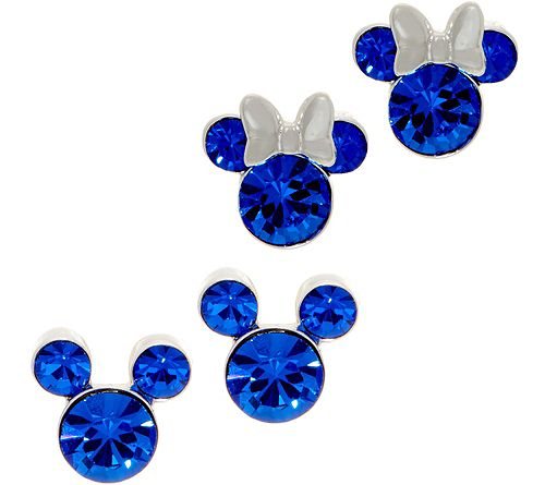 As Is Mickey's 90th Birthday Simulated BirthstoneStuds