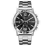 Caravelle Mens Stainless Chronograph BraceletSport Watch - J383336