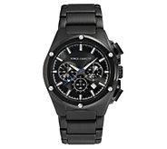 Vince Camuto Mens Multi-Function Black Bracelet Watch - J383536