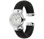 Arte D Argento Sterling Stingray Cuff Watch - J391836