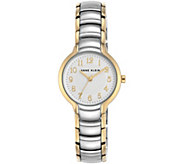 Anne Klein Womens Two-tone Bracelet Watch - J344737