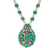 LOGO Links by Lori Goldstein Moonstone Amulet Necklace - J354537