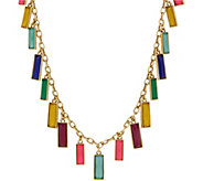 LOGO Links by Lori Goldstein Hanging Rectangles Necklace - J355137
