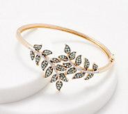 Alexandrite & Diamond Leaf Design Bracelet, 2.00 cttw, 14K - J360337
