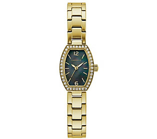 Caravelle Women's Goldtone Crystal Watch