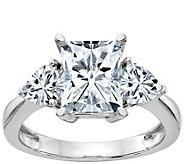 Moissanite 2.05 cttw 3-Stone Engagement Ring, 14K Gold - J388337