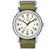 Timex Mens Olive Green Weekender Watch - J308838