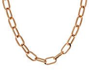 Bronzo Italia 30 Polished Oval Link Chain - J313638