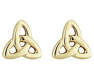 Solvar Medium Trinity Knot Earrings,14K - J316438