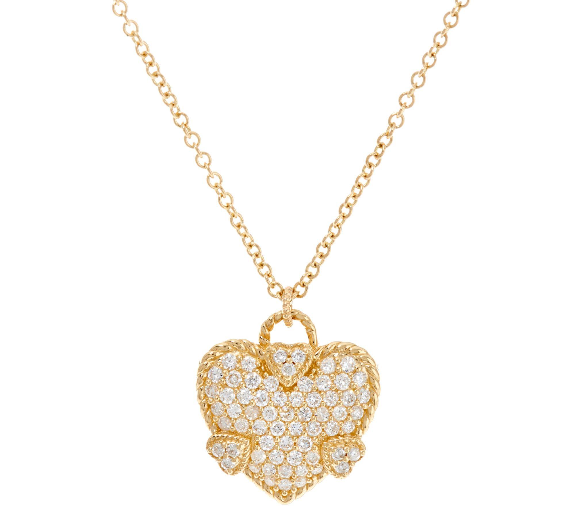 Pendants — Gold Silver Gemstone & More — QVC