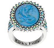 Kirks Folly Lorelei Mermaid Dream Stone Ring - J353838