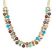 LOGO Links by Lori Goldstein Antiqued Collar Necklace - J355138
