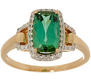 Blue Green Tourmaline Ring, 1.80 cttw, 14K Gold - J357138