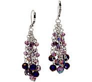 Kirks Folly Dancing Crystal Tassel Leverback Earring - J358638