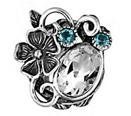 Or Paz Sterling 5.30 cttw Multi-Gemstone Ring - J379338