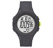 Timex Unisex Ironman Black Silicone ChronographDigital Watch - J380638