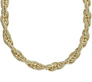 Judith Ripka Verona 14K Gold-Clad 18 Rope Chain Necklace - J382438