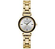 BCBG Generation Womens Hamilton Goldtone Bracelet Watch - J391938