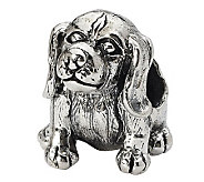 Prerogatives Sterling Beagle Bead - J299539