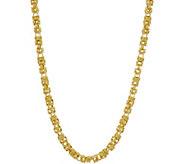 Judith Ripka Verona 20 14K Clad Byzantine Necklace, 36.7g - J349239