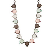 LOGO Links by Lori Goldstein Mystic Moonstone Necklace - J354539