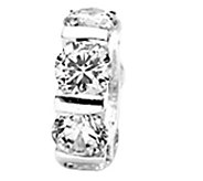 Prerogatives Sterling Silver Cubic Zirconia Bead - J108940