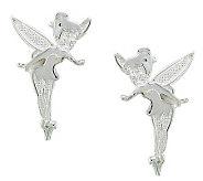 Disney Sterling Silver Tinker Bell Stud Earrings - J112540