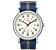 Timex Mens Blue and Gray Weekender Watch - J308840