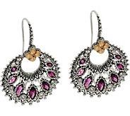 Barbara Bixby Sterling & 18K Marquise Gemstone Drop Earrings - J349840