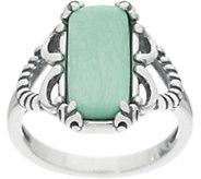 Carolyn Pollack Positano Variscite Sterling Silver Ring - J355540