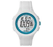 Timex Unisex Ironman White Silicone ChronographDigital Watch - J380640