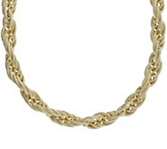 Judith Ripka Verona 14K Clad 20 Rope Chain Necklace, 76.0g - J382440