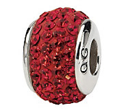 Prerogatives Sterling Scarlet Full Swarovski Crystal Bead - J299641