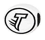 Sterling Silver Towson University Bead - J300841