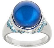 Honora Cultured Pearl & Multi-Cut Gemstone Sterling Ring - J348241