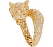 Italian Gold Panther Ring 14K Gold - J350941