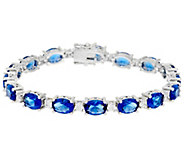 As Is Elizabeth Taylor Simulated Tennis Bracelet - J354441
