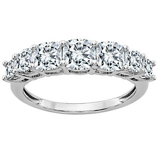 Moissanite 3.25 cttw Anniversary Ring, 14K Gold