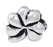 Prerogatives Sterling Silver Clover Bead - J109942
