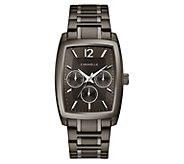 Caravelle Mens Stainless Chronograph RectangleBracelet Watch - J383342