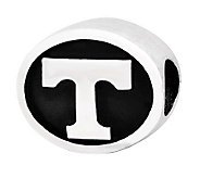 Sterling Silver University of Tennessee Bead - J300743