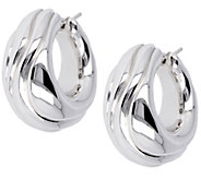 Arte dOro 1 Swirled Hoop Earrings, 18K - J342943