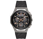 Bulova Mens Titanium CURV Chronograph Watch - J384443