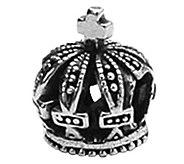 Prerogatives Sterling Crown Bead - J108944