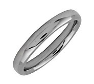 Simply Stacks Sterling Black Rhodium-Plated 3.25mm Ring - J298944