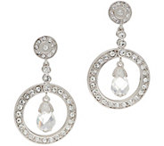 Grace Kelly Collection Hanging Star Earrings - J355144